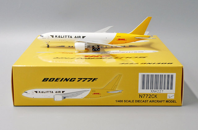 /LAST/ Kalitta Air B777F Reg: N722CK JC Wings Scale 1:400 Diecast model XX4227