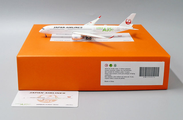 Japan Airlines A350-900 Reg: JA03XJ JC Wings 1:400 Diecast Flaps Down EW4359003A