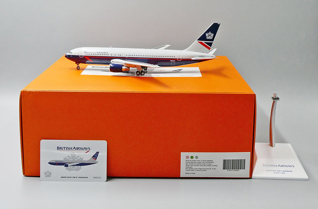 /LAST/ British Airways B767-200ER N652US JC Wings Scale 1:200 Diecast EW2762001