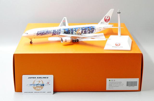JAL B777-200 Reg: JA8979 Samurai Blue Livery JC Wings 1:200 Diecast EW2772002