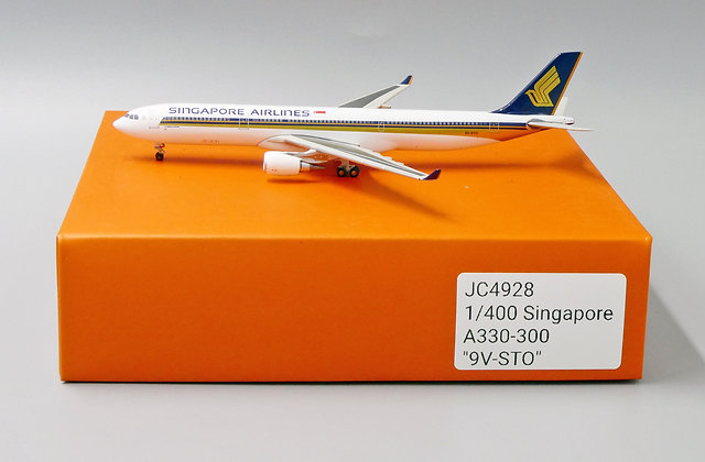 Singapore Airline A330-300 Reg: 9V-STO JC Wings Scale 1:400 Diecast Model JC4928