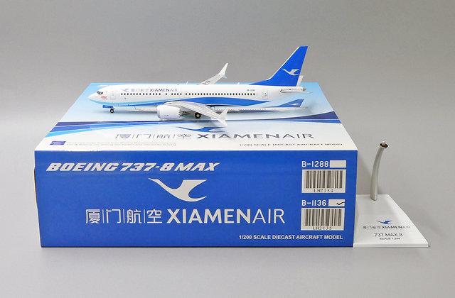 Xiamen Air B737-8MAX 2000th Boeing For China Reg: B-1136 JC Wings 1:200 LH2135