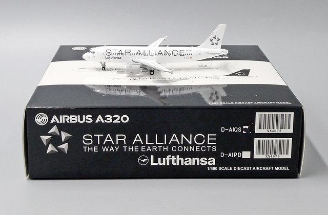 Lufthansa A320 Reg: D-AIQS Scale 1:400 Diecast Model JC Wings XX4075
