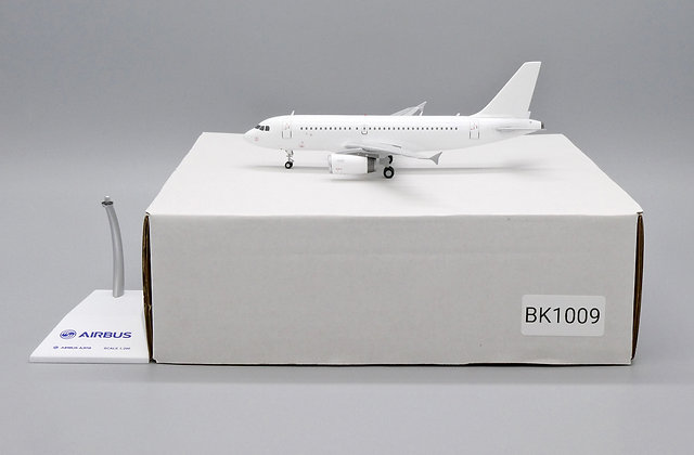 "Airbus A319 ""Blank Series"" V2500 engines JC Wings 1:200 Diecast BK1009"
