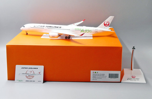Japan Airlines A350-900 Reg: JA03XJ EW Wings Flaps Down 1:200 Diecast EW2359003A
