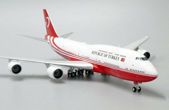 Turkey Government B747-8i Reg:TC-TRK Scale 1:400 Diecast Models LH4132