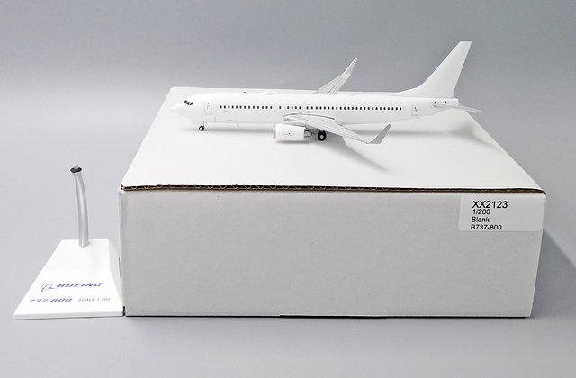 Blank B737-800 JC Wings Scale 1:200 Diecast Model XX2123