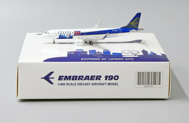 EMBRAER 190 ''Empress of London City'' Reg: PP-XMA JC Wings Scale 1:400 LH4143