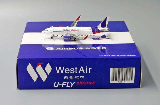 West Air A320 U-FLY Alliance Reg: B-1897 JC Wings 1:400 XX4104