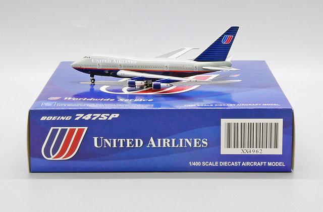 United Airlines B747SP Reg: N145UA Scale1:400 JC Wings Diecast model XX4962