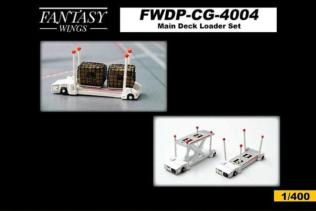 Main Deck Loader Set Scale 1/400 Set of 2 Fantasywings FWDP-CG-4004