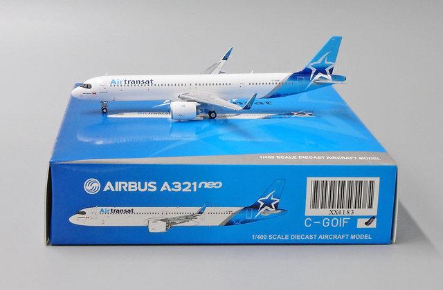 Air Transat A321neo Reg: C-GOIF Scale 1:400 JC Wings Diecast Model XX4183
