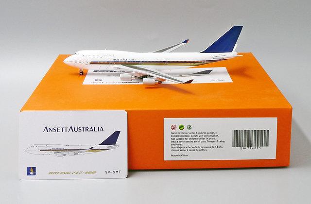 Ansett Australia B747-400 Reg: 9V-SMT Scale 1:400 Diecast EW4744005
