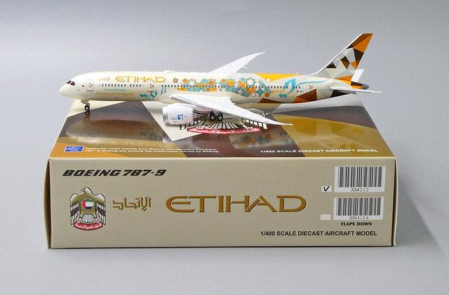 //LAST// Etihad B787-9 Choose Saudi Arabia A6-BLI JC Wings 1:400 Diecast XX4212