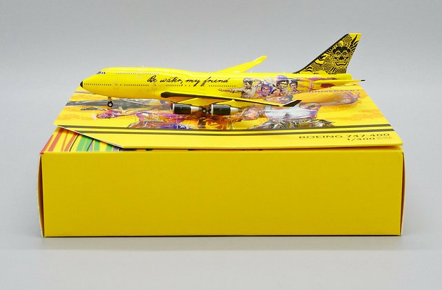 Bruce Lee B747-400 ''80th Anniversary'' Scale 1:400 Tiny Diecast model ATC40009