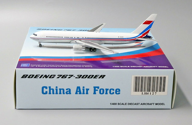 China Air ForceB767-300ER Reg:B-4025 JC Wings Scale 1:400 Diecast Model LH4127