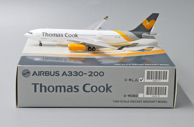 Thomas Cook A330-200 Reg: G-MLJL JC Wings Scale 1:400 Diecast model LH4157