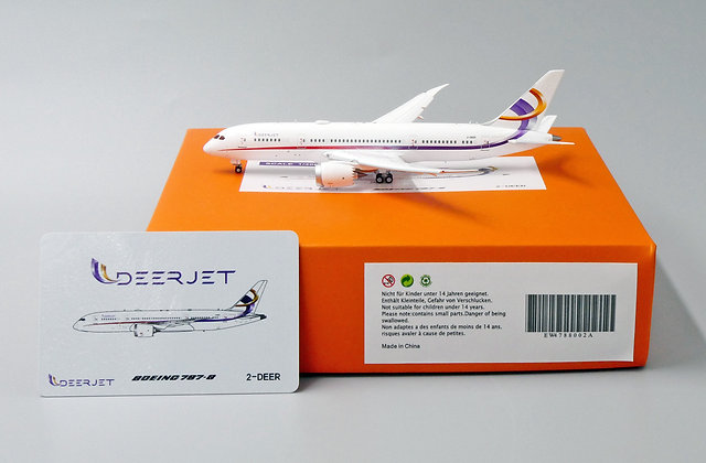 Deer Jet B787-8 Flap Down Version Reg: 2-DEER EW Wings Scale 1:400 EW4788002A