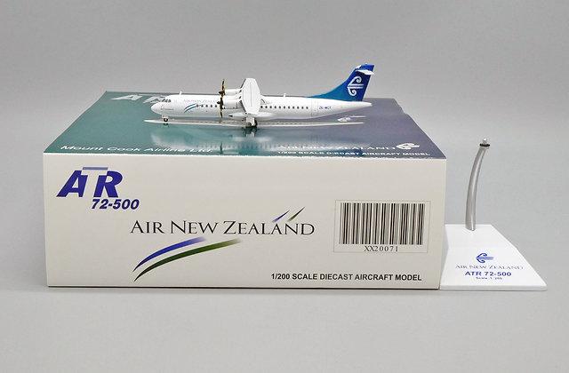 Air New Zealand ATR72-500 Reg: ZK-MCY JC Wings 1:200 Diecast Model XX20071