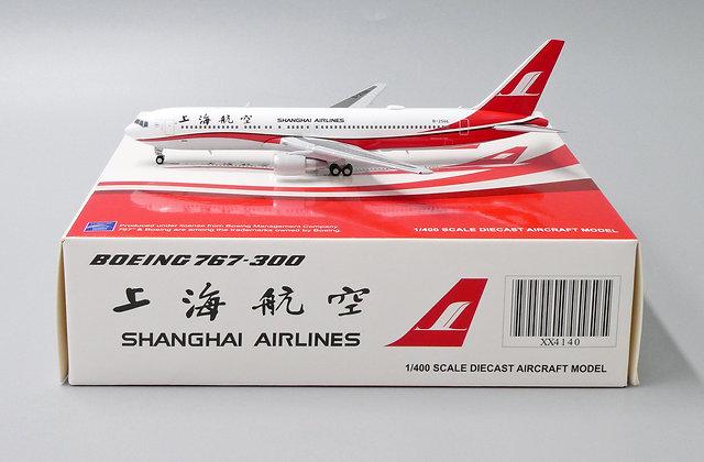 Shanghai Airlines B767-300 Reg:B-2566 JC Wings 1:400 Diecast Model XX4140