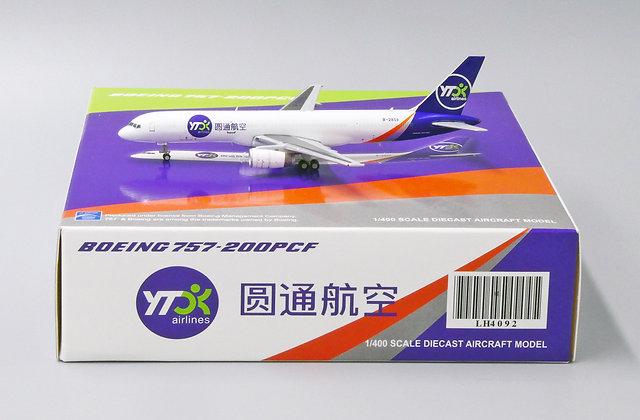 YTO Cargo B757-200(PCF) B-2859 JC Wings 1:400 LH4092