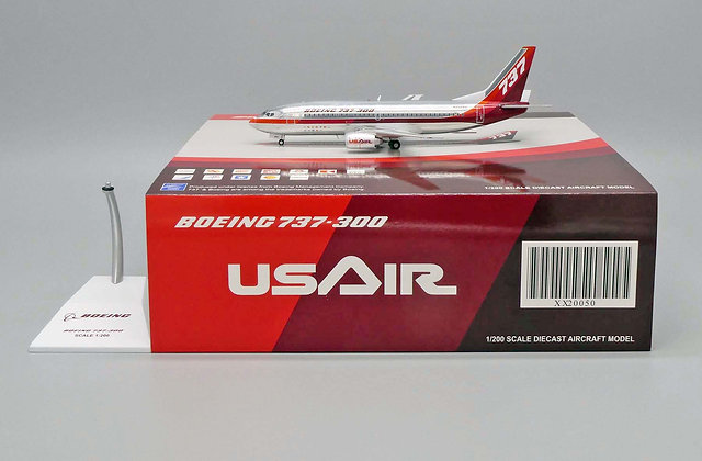 USAir B737-300 Reg: N352AU JC Wings Scale 1:200 Diecast model XX20050