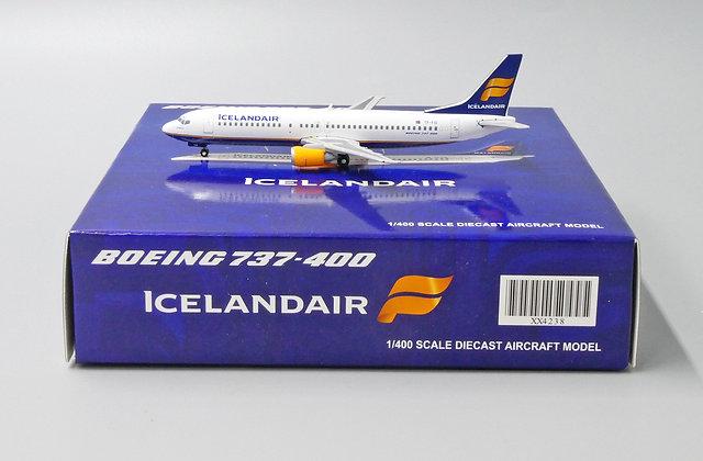 Icelandair B737-400 Reg: TF-FID JC Wings Scale 1:400 Diecast Model XX4238