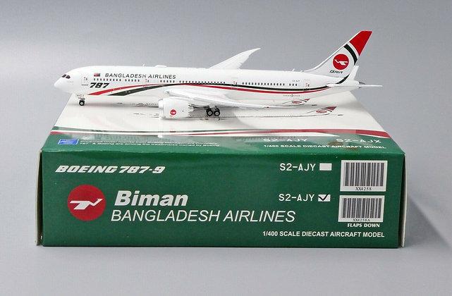 Biman Bangladesh Airlines B787-9 Reg: S2-AJY JC FLAPS DOWN Scale 1:400 XX4258A