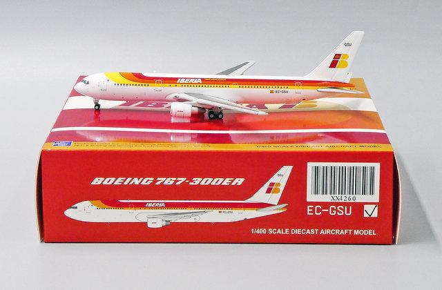 IBERIA B767-300ER Reg: EC-GSU JC Wings Scale 1:400 Diecast model XX4260