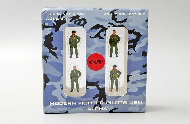 Modern Fighter Pilots USN Set Alpha Calibre Wings Scale 1:72 CA72WS01
