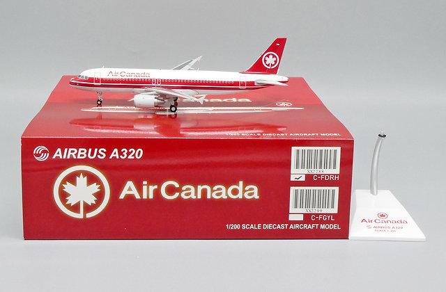 Air Canada A320 Reg: C-FDRH JC Wings Scale 1:200 Diecast Model XX2288