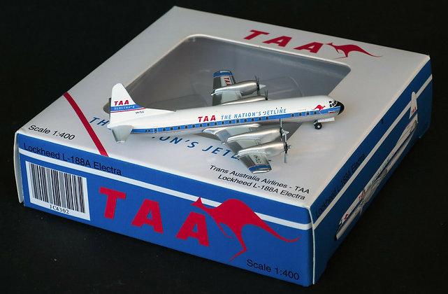 TAA L188 Electra Reg: VH-TLC JC Wings Diecast models scale 1:400 JC4302