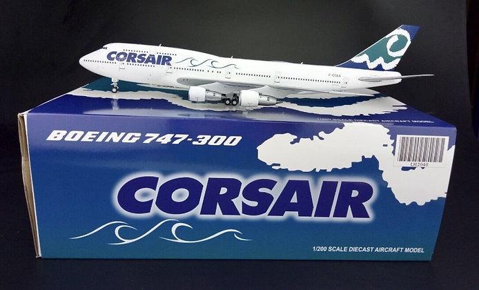 Corsair Boeing 747-300 Reg: F-GSEA JC Wings 1:200 Diecast LH2040