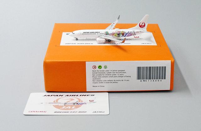 JAL B737-800 Reg: JA330J JC Wings Scale 1:400 Diecast Models EW4738004