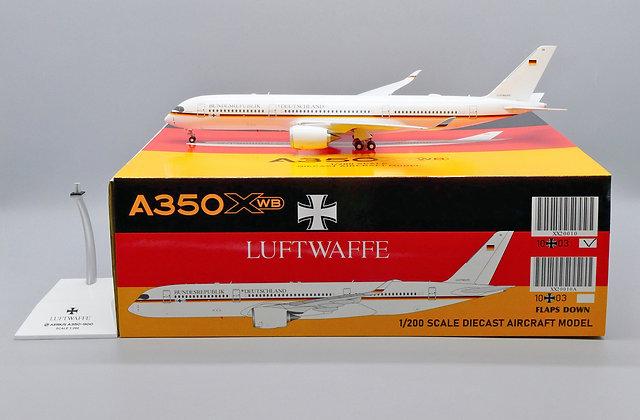 Luftwaffe A350XWB Reg: 10+03 JC Wings Scale 1:200 Diecast XX20010