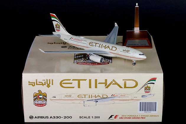 Etihad A330-200 Reg:A6-EYN JC Wings 1:200 Diecast Models XX2962