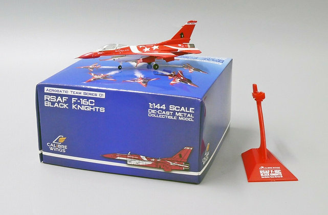 Calibre Wings Singapore Air Force 1/144 F-16C Black Knights Team No.1