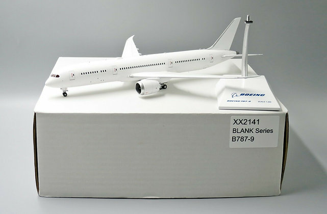 Blank B787-9 JC Wings Scale 1:200 Diecast Models LH2141