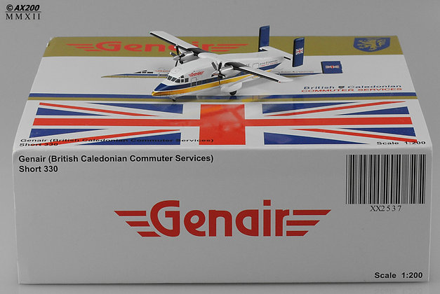 British Caledonian (Genair) Short330 G-NICE 1:200 Diecast model GJ mould XX2537