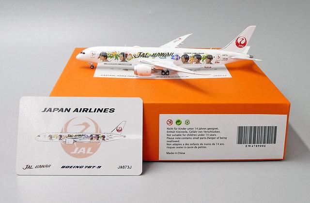 JAL Special livery B787-9 Reg: JA873J EW Wings Scale 1:400 Diecast EW4789006