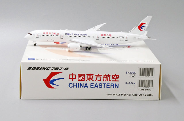 China Eastern B787-9 Reg:B-206K Jc wings 1:400 Diecast Model XX4029