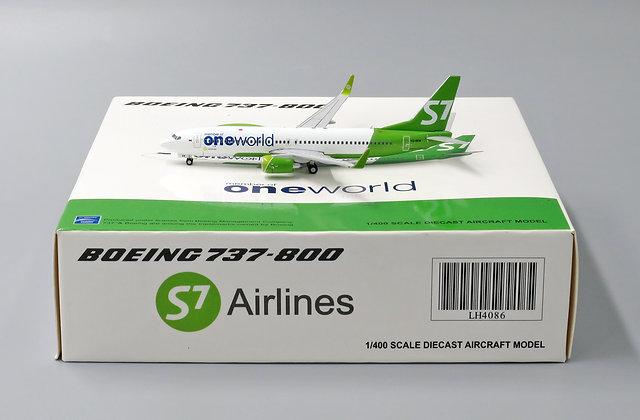 S7 B737-800 One World Reg:VQ-BKW JC Wings 1:400 LH4086