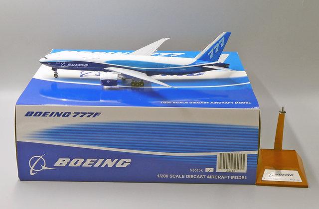 Boeing House Color B777F Reg: N5020K JC Wings 1:200 Diecast XX2181