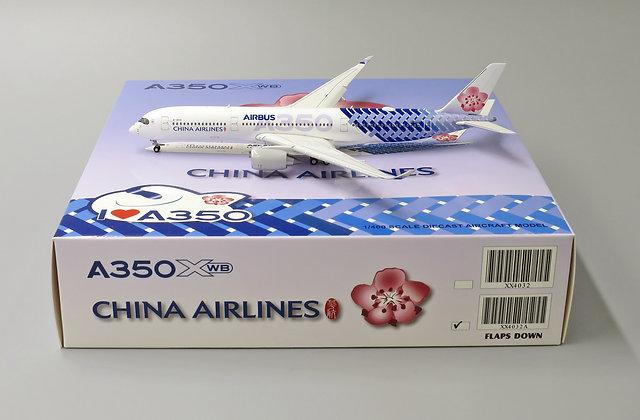 China Airlines A350-900 Carbon Fibre B-18918 FLAPS DOWN version 1:400 XX4032A