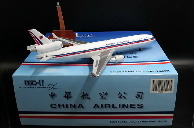 China Airlines MD11 OC Reg:B-151 JC Wings Scale 1:200 Diecast models XX2243