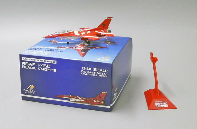 Calibre Wings Singapore Air Force 1/144 F-16C Black Knights Team No.5