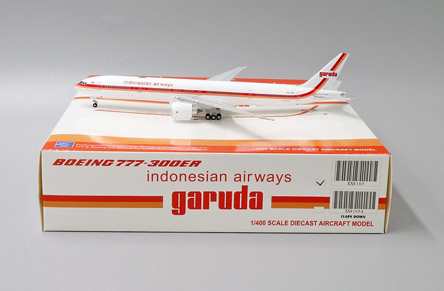 Garuda Indonesian Airways B777-300ER Reg: PK-GIK 1:400 JC Wings XX4165