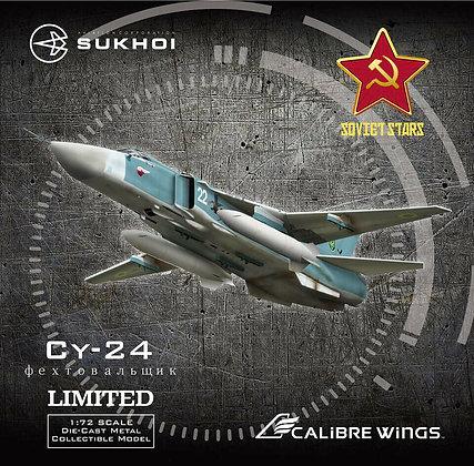 Ukrainian Air Force Su-24M Calibre Wings Scale 1:72 Diecast model CA722403