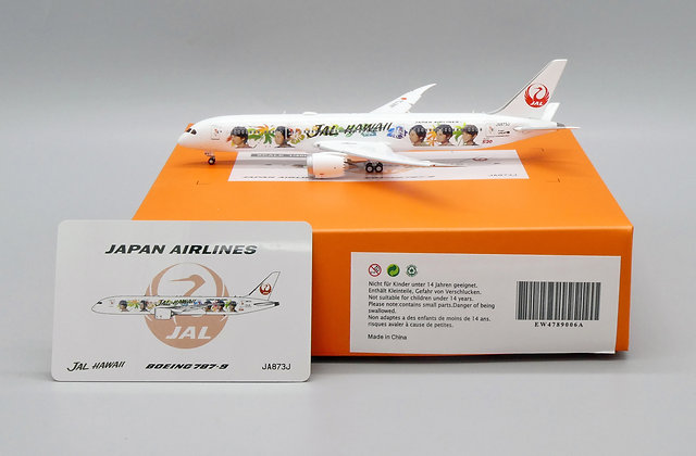 JAL Special livery B787-9 Reg:JA873J EW Wings Scale1:400 Diecast EW4789006A