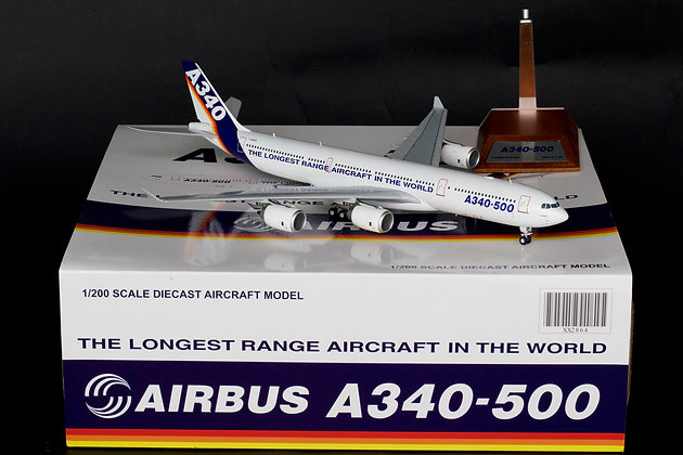 "Airbus Industrie A340-500 ""House Color"" F-WWTE JC Wings 1:200 Diecast XX2864"